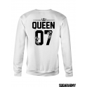 KING & QUEEN matching couple crewneck sweatshirts