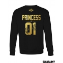 PRINCE & PRINCESS matching sweatshirts for couples ★ the Golden Royalty Collection ★