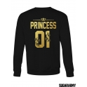PRINCE & PRINCESS matching sweatshirts for couples ★ NUMBERS ★