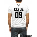 CLYDE t-shirt with custom number