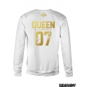 KING and QUEEN crewneck sweatshirt ★ the Golden Royalty Collection ★