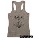 Mermaid at SEASHELL women tank top