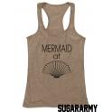 Mermaid at SEASHELL women tank top