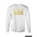 Crewneck sweatshirts KING and QUEEN