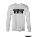 PRINCE & PRINCESS matching crewnecks for couples
