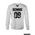 Bonnie and Clyde matching couple crewneck sweatshirts