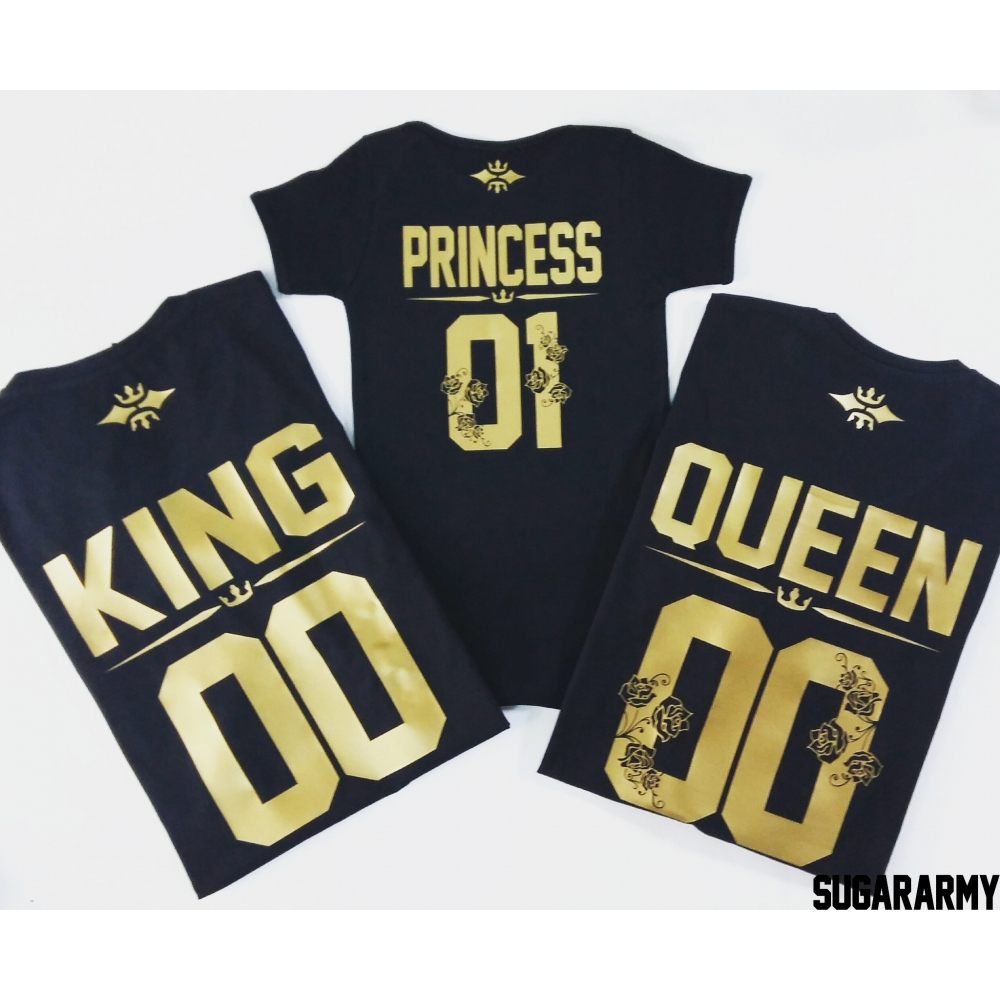 We LOVE ❤ LOVE ❤ LOVE our matching KING and QUEEN t-shirts