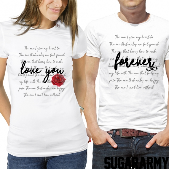 Love You Forever Couple Set