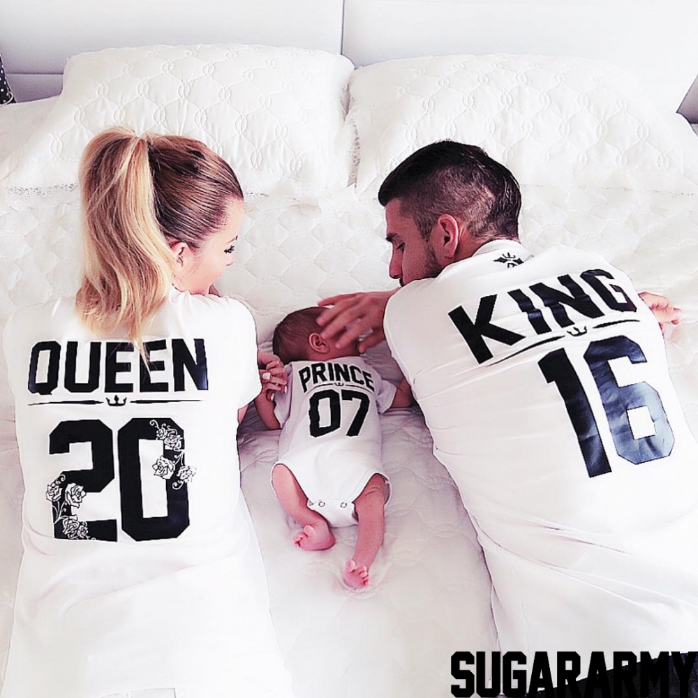 King Queen and Prince matching family t-shirts | SugarARMY — SugarARMY