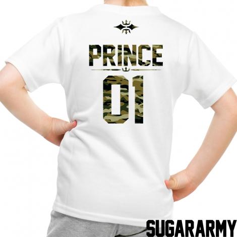 PRINCE KID T-SHIRT CAMOUFLAGE PRINT