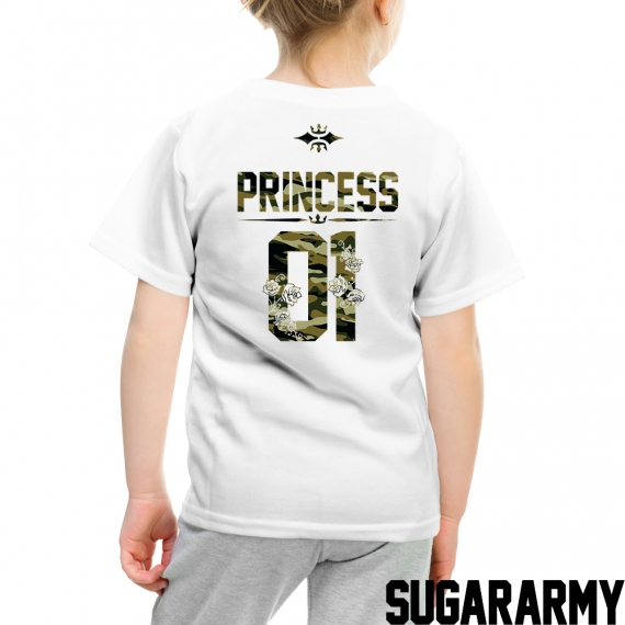 Princess 01 Camouflage Print Kid t-shirt
