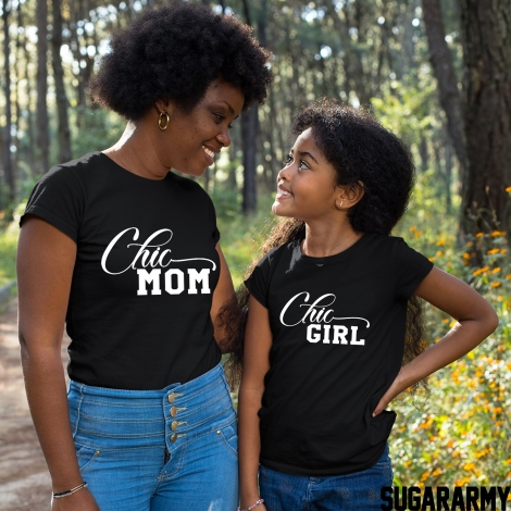 CHIC MOM & CHIC GIRL Set - Basic