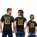 BEST TEAM EVER Family Set | Golden Edition