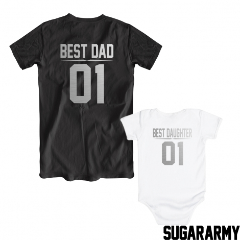 BEST DAD BEST DAUGHTER • SILVER EDITION