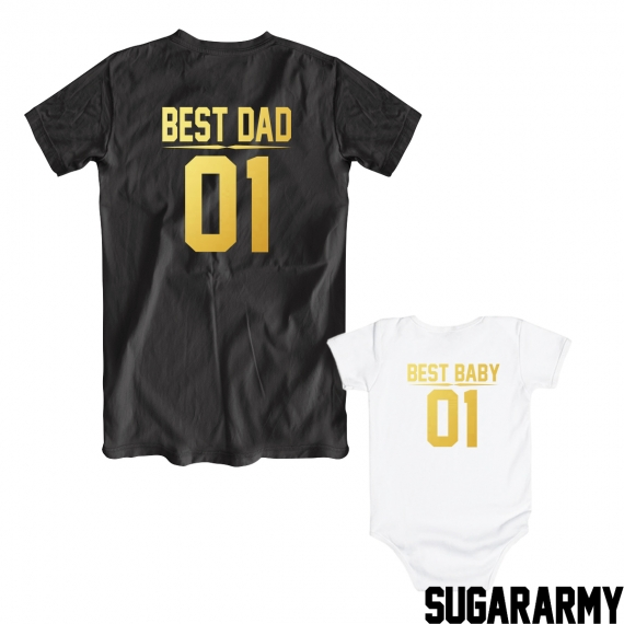 BEST DAD & BEST BABY golden edition