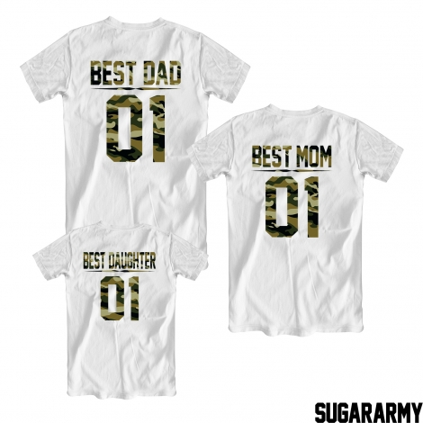 BEST DAD ★ BEST MOM ★ BEST DAUGHTER