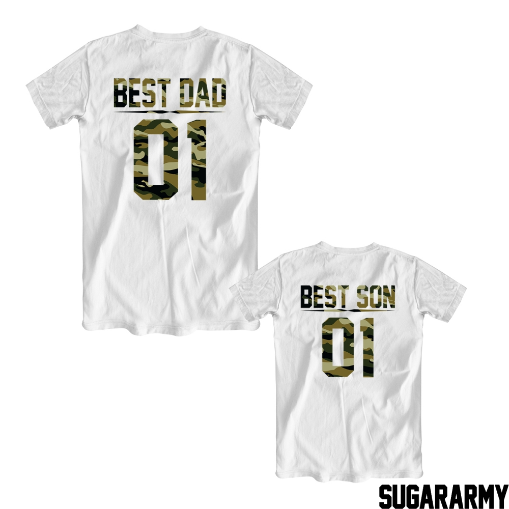 e2246d0d Relatively Best DAD Best SON camouflage t-shirts — SugarARMY WI76
