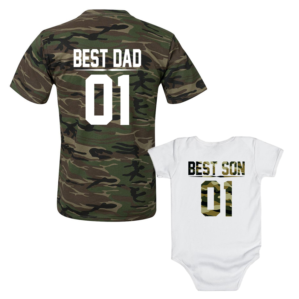 best dad best son matching t shirts sugararmy. Black Bedroom Furniture Sets. Home Design Ideas
