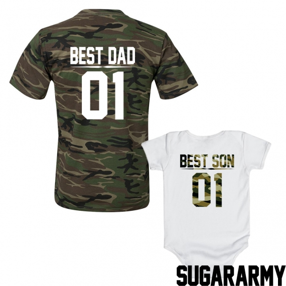 Best DAD & Best SON | CAMOUFLAGE EDITION