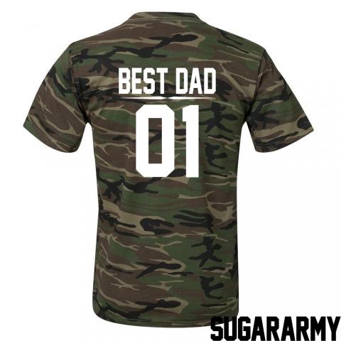 BEST DAD CAMOUFLAGE T-SHIRT
