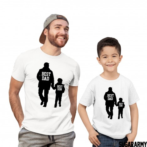 Best Dad & Best Son - Matching Father and Son T-shirts