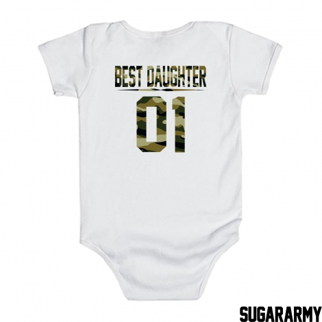 BEST DAUGHTER 01 Camouflage print