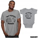 Best Drinking Partners -  Father & Baby Funny Set