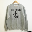 PITBULL BEST FRIENDS FOR LIFE SWEATSHIRT