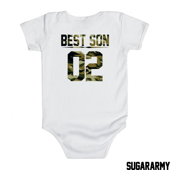BEST SON Bodysuit | Custom number