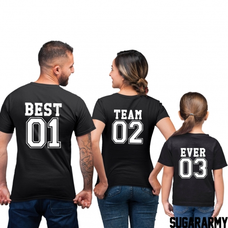 BEST TEAM EVER Family Set
