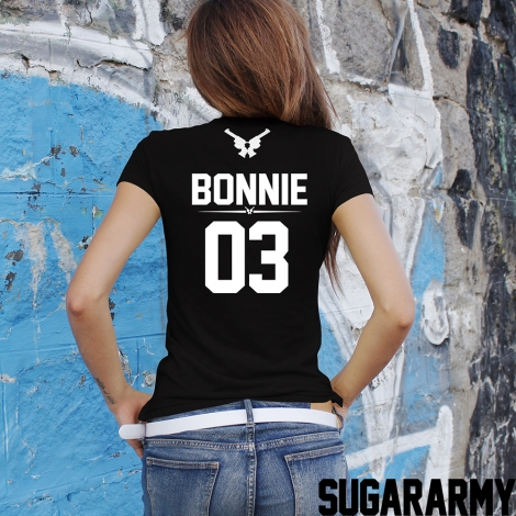 BONNIE t-shirt with number