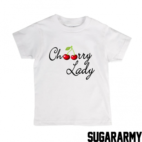 Cherry Lady t-shirt