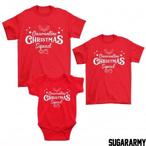 Quarantine Christmas Squad Family Outfit