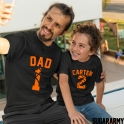 Dad & Kid Persolized Matching Basketball Set