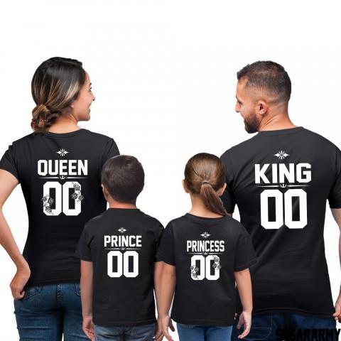King, Queen, Prince & Princess - Family Set