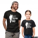 Sweet Father & Daughter Shirts - The answer to my prayers calls me Dad