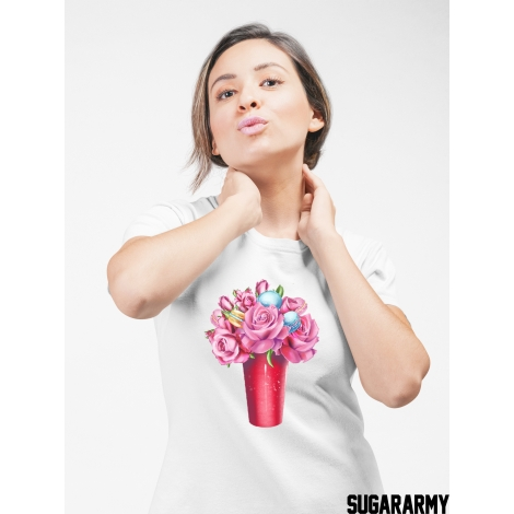 Oh! Flowers ladies t-shirt