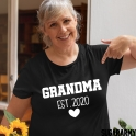 GRANDMA EST.   T-SHIRT | Heart Edition