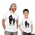Cute Father and Son T-shirts - Ich bin immer für dich da