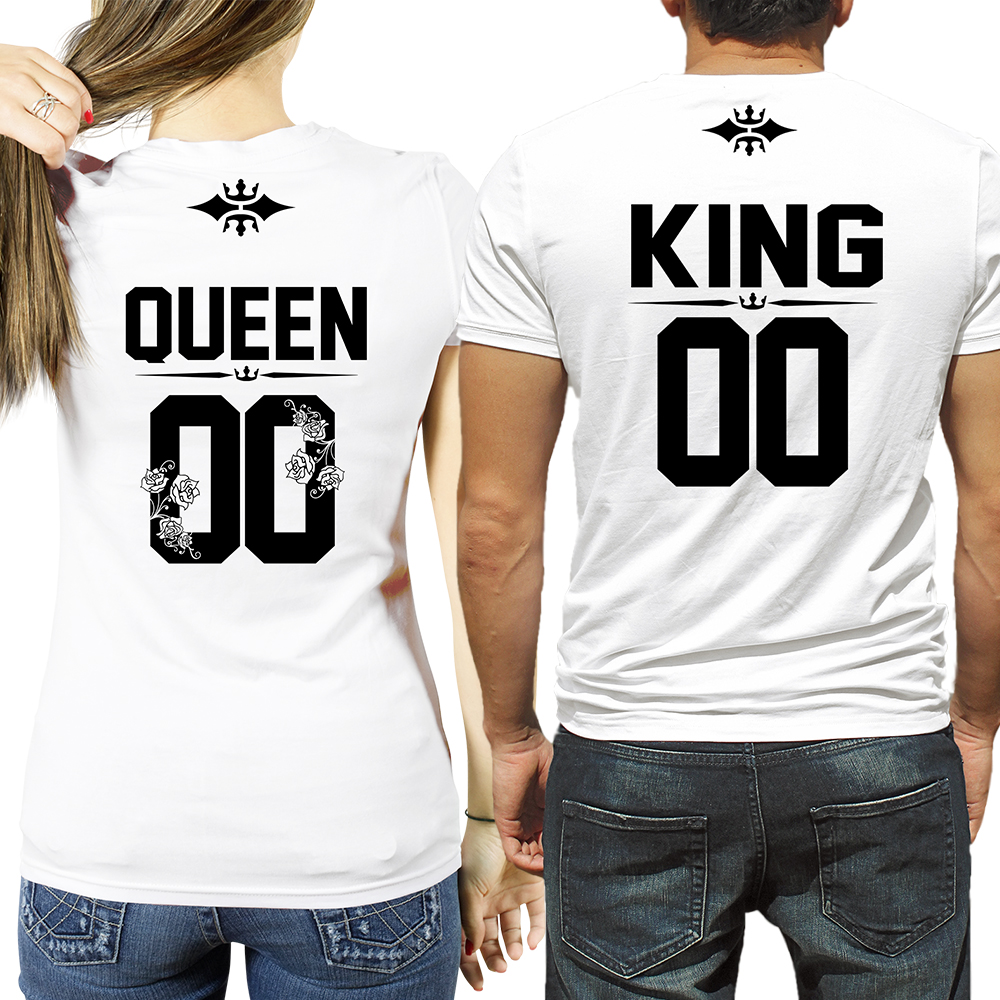 KING and QUEEN t-shirts | CUSTOM NUMBER | SugarARMY — SugarARMY