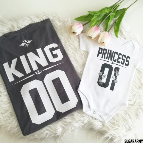 KING & PRINCESS family shirts