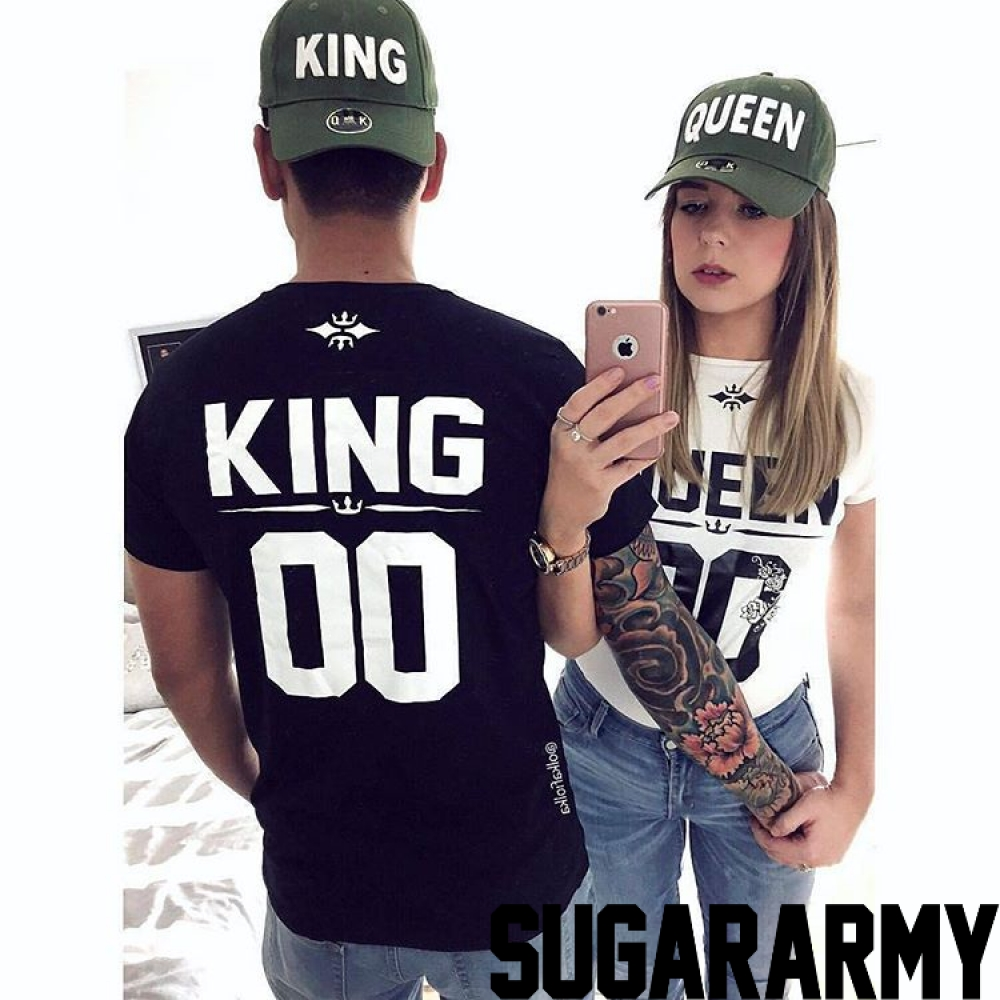 king and queen t shirts custom number sugararmy sugararmy