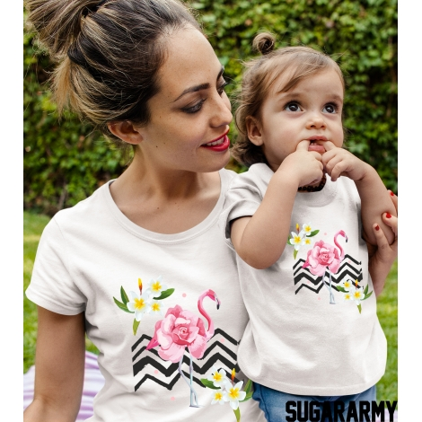 Flamingo Matching t-shirts