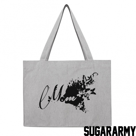 MOM BUTTERFLY SHOPPING BAG