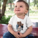 MOM OF 2 BOYS bodysuit/t-shirt