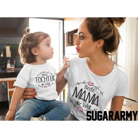Beste Mama der Welt & Beste Tochter der Welt - Family set