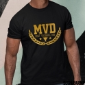 MOST VALUABLE DAD - MVD Gold Letters