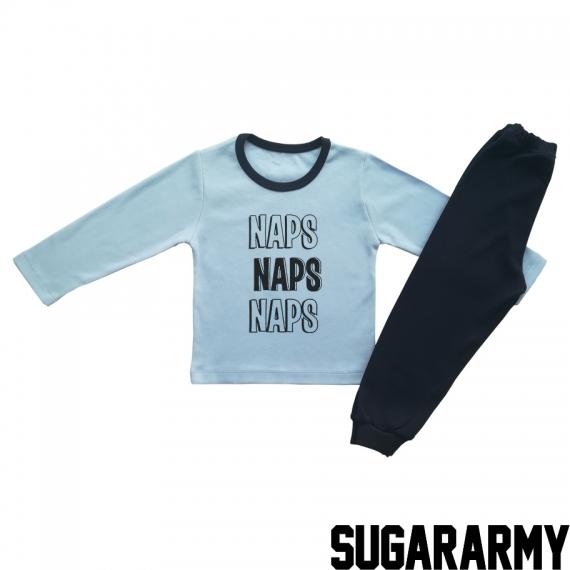 NAPS NAPS NAPS - Blue pajama
