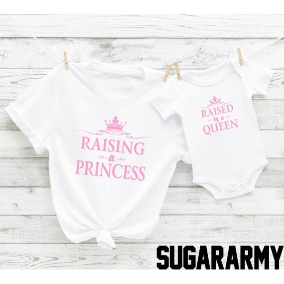 Mom & Mini set - Raising a Princess & Raised by a Queen
