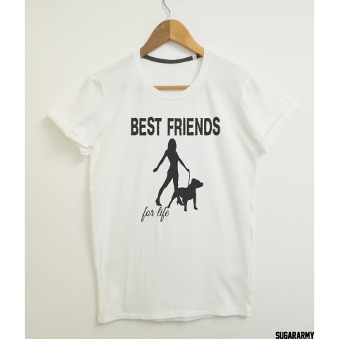 PITBULL BEST FRIENDS FOR LIFE T-SHIRT